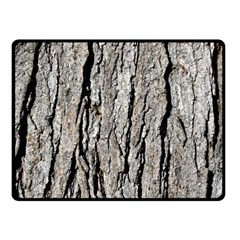 Tree Bark Double Sided Fleece Blanket (small)