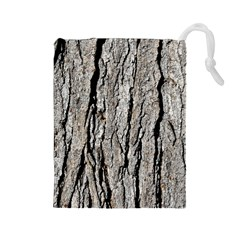 TREE BARK Drawstring Pouches (Large)