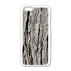 Tree Bark Apple Iphone 6/6s White Enamel Case