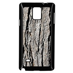 Tree Bark Samsung Galaxy Note 4 Case (black)