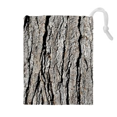 TREE BARK Drawstring Pouch (XL)