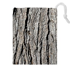 Tree Bark Drawstring Pouch (xxl)