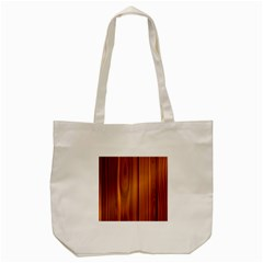 Shiny Striated Panel Tote Bag (cream)