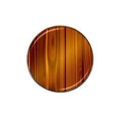 Shiny Striated Panel Hat Clip Ball Marker (10 Pack)