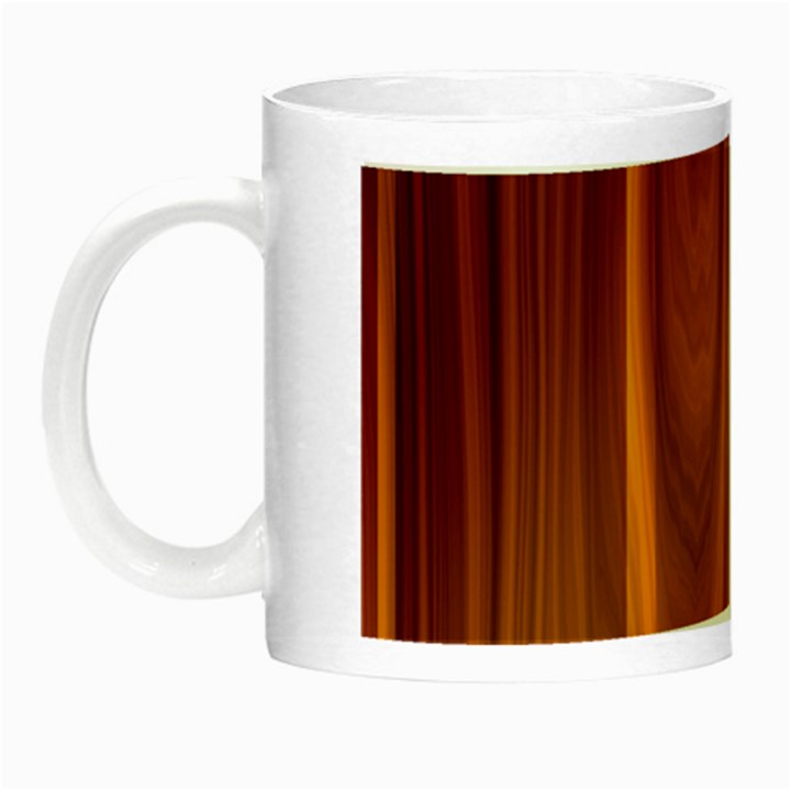 SHINY STRIATED PANEL Night Luminous Mugs