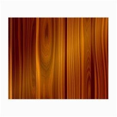 Shiny Striated Panel Small Glasses Cloth