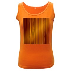 Shiny Striated Panel Women s Dark Tank Tops