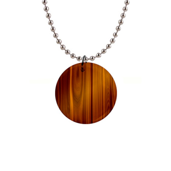SHINY STRIATED PANEL Button Necklaces