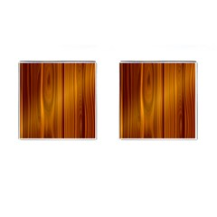 Shiny Striated Panel Cufflinks (square)