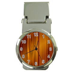 SHINY STRIATED PANEL Money Clip Watches