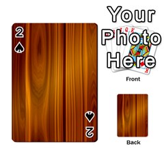 Shiny Striated Panel Playing Cards 54 Designs