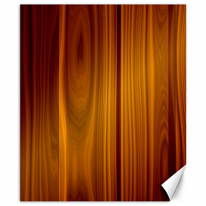 SHINY STRIATED PANEL Canvas 8  x 10