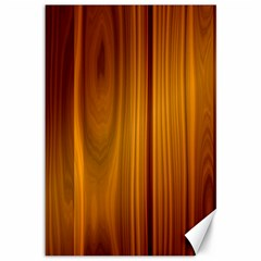 Shiny Striated Panel Canvas 12  X 18