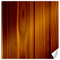 Shiny Striated Panel Canvas 16  X 16
