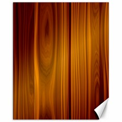 Shiny Striated Panel Canvas 16  X 20