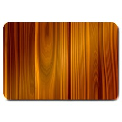 Shiny Striated Panel Large Doormat