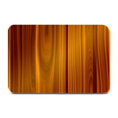 Shiny Striated Panel Plate Mats