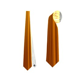 Shiny Striated Panel Neckties (one Side)