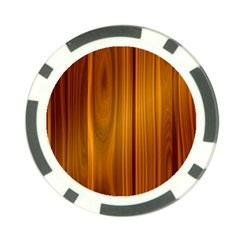 Shiny Striated Panel Poker Chip Card Guards