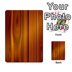 Shiny Striated Panel Multi Purpose Cards (rectangle)