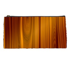Shiny Striated Panel Pencil Cases