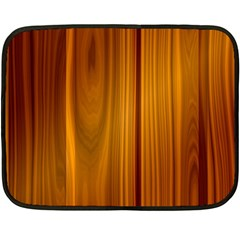Shiny Striated Panel Double Sided Fleece Blanket (mini)
