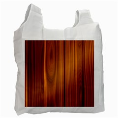 Shiny Striated Panel Recycle Bag (two Side)