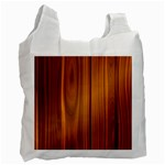 SHINY STRIATED PANEL Recycle Bag (Two Side)  Front