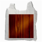 SHINY STRIATED PANEL Recycle Bag (Two Side)  Back