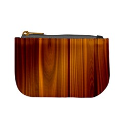 Shiny Striated Panel Mini Coin Purses