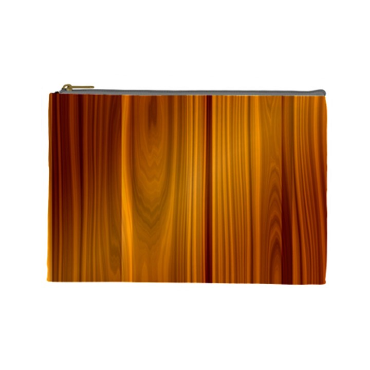 SHINY STRIATED PANEL Cosmetic Bag (Large)