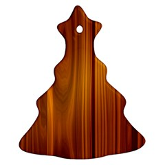 SHINY STRIATED PANEL Ornament (Christmas Tree)
