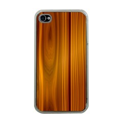 SHINY STRIATED PANEL Apple iPhone 4 Case (Clear)