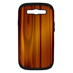 SHINY STRIATED PANEL Samsung Galaxy S III Hardshell Case (PC+Silicone)