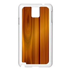 SHINY STRIATED PANEL Samsung Galaxy Note 3 N9005 Case (White)