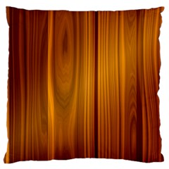 Shiny Striated Panel Large Flano Cushion Cases (two Sides)