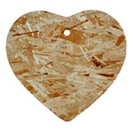 OSB PLYWOOD Ornament (Heart)  Front
