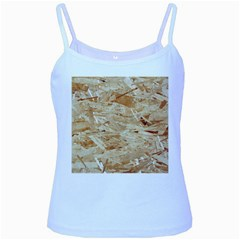 Osb Plywood Baby Blue Spaghetti Tanks