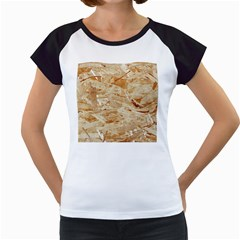 Osb Plywood Women s Cap Sleeve T