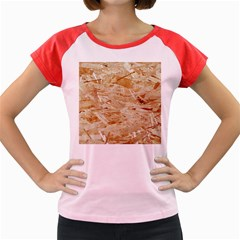 Osb Plywood Women s Cap Sleeve T Shirt