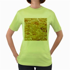 Osb Plywood Women s Green T Shirt