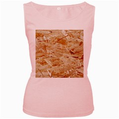 Osb Plywood Women s Pink Tank Tops