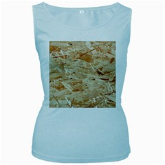 Osb Plywood Women s Baby Blue Tank Tops