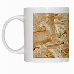 Osb Plywood White Mugs