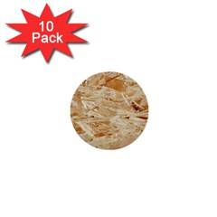 Osb Plywood 1  Mini Buttons (10 Pack)