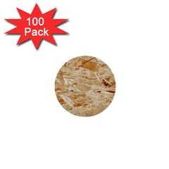 Osb Plywood 1  Mini Buttons (100 Pack)