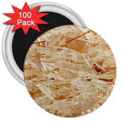 Osb Plywood 3  Magnets (100 Pack)