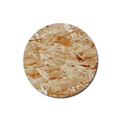 Osb Plywood Rubber Coaster (round)