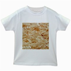 Osb Plywood Kids White T Shirts