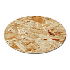 Osb Plywood Oval Magnet